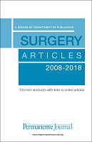 Surgical Articles